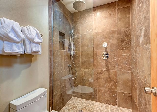 Upstairs Master Shower