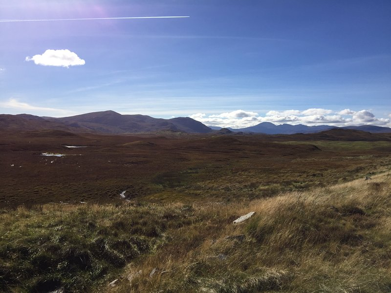 Beautiful South Lochs moorland - great for walking!