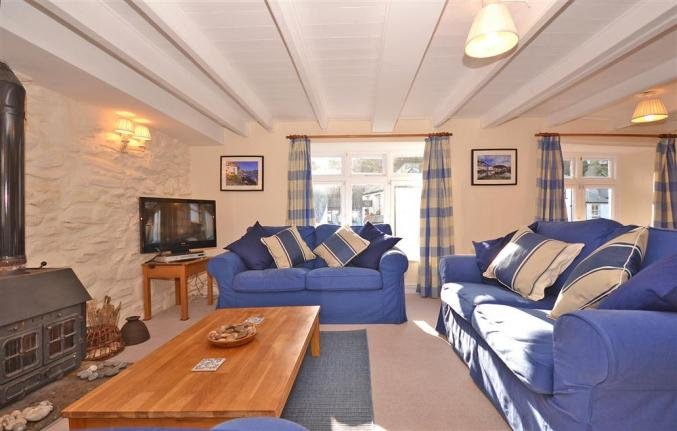 The spacious open plan living accommodation