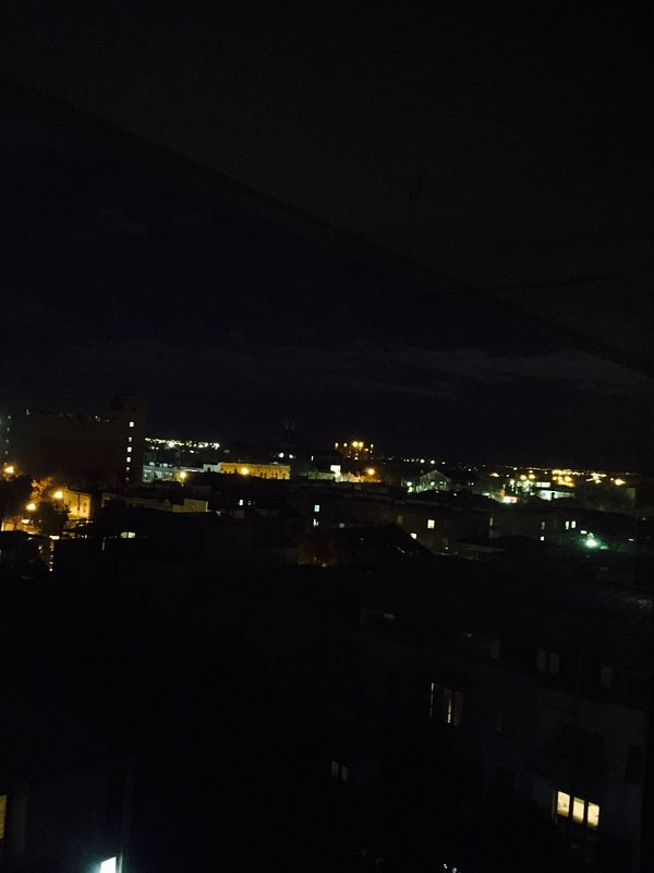 Night time Balcony View
