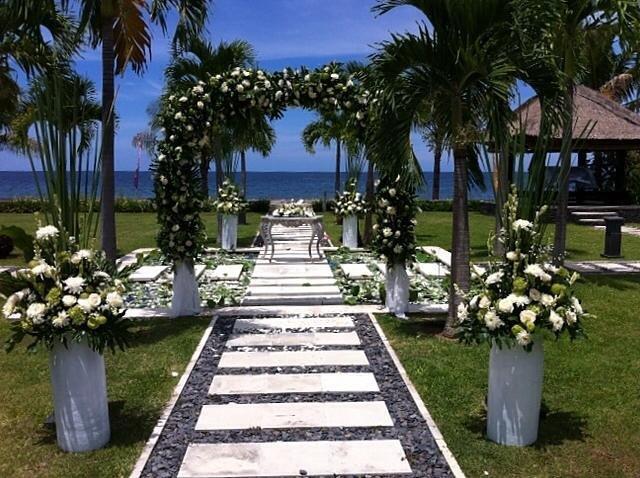 Mooie huwelijksceremonie