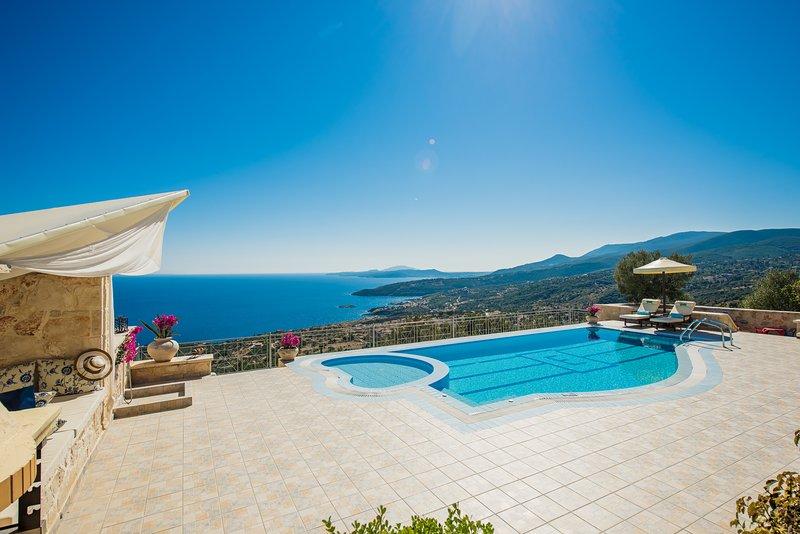 Emerald Deluxe Villa, aluguéis de temporada em Skinaria