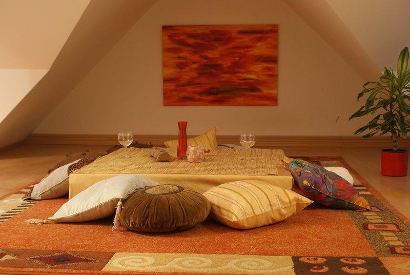 Cosy studio apartment in Oelsnitz/Erzgebirge, holiday rental in Stollberg