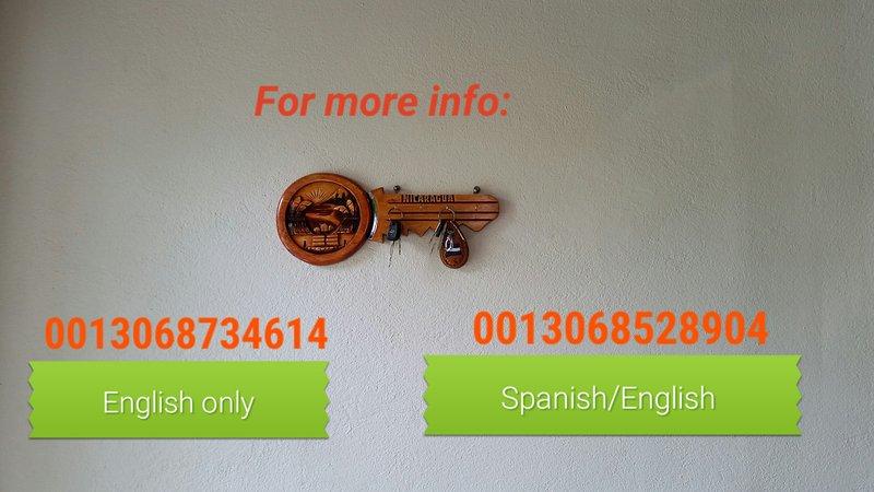 Por favor, siéntase libre de ponerse en contacto con nosotros para obtener información adicional.