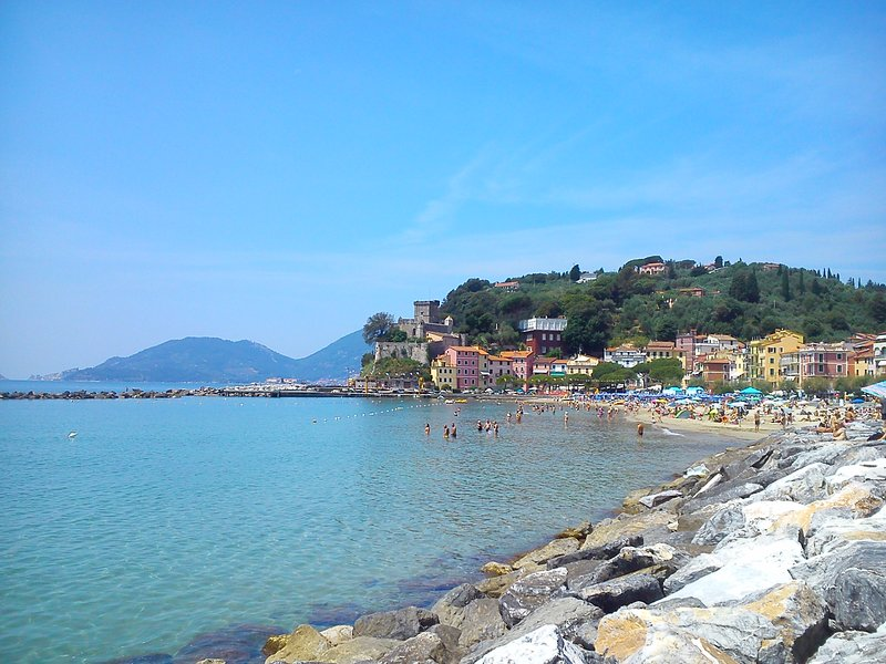 plage de San Terenzo