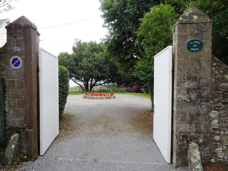 """Bienvenido a """"La Pointe des Rimains"""" en Cancale."""