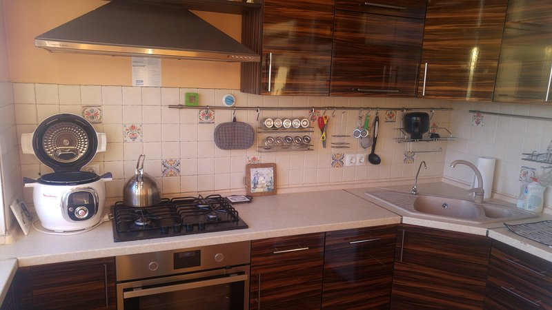 Сozy and bright apartment near the metro station, holiday rental in Pargolovo