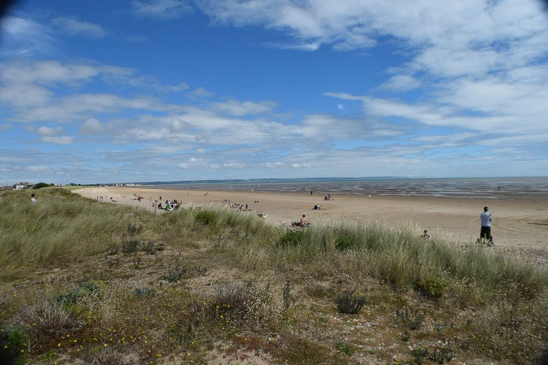 The Dunes and beach at nearby Greatstone