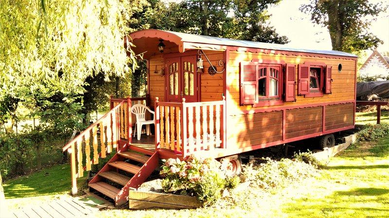 The lovely gypsy caravan