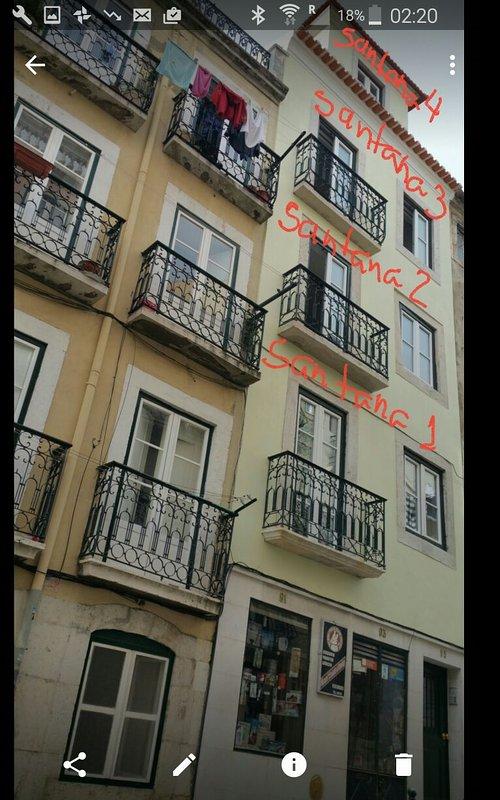 All the Santana apartments