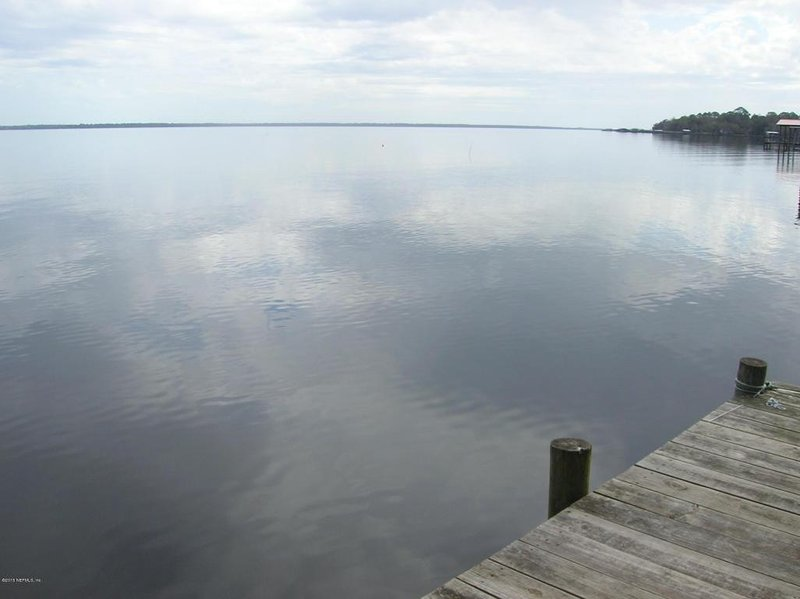 From the dock, looking south.