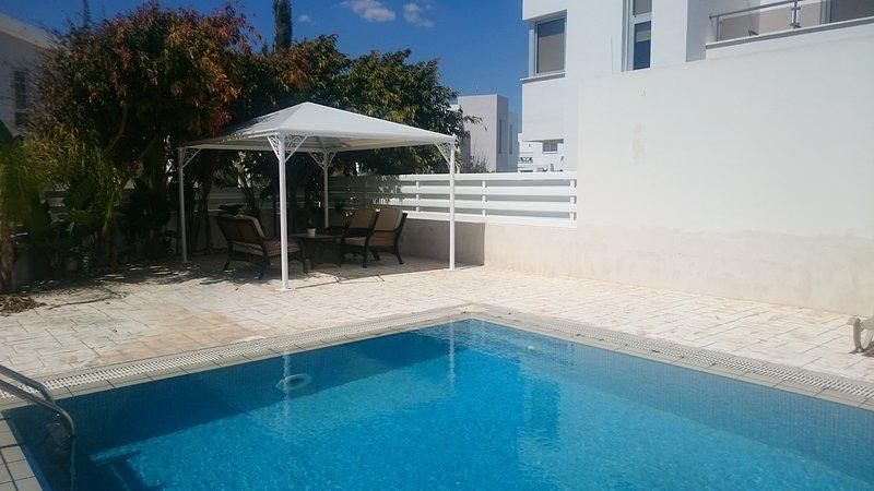 Colonial Beach Villa, holiday rental in Pervolia