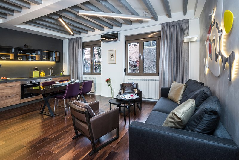 Apartment Palace A5, holiday rental in Belgrade