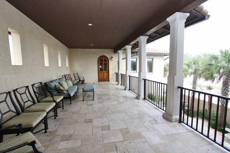 Second Floor Loggia Overlooks Pool & Gulf