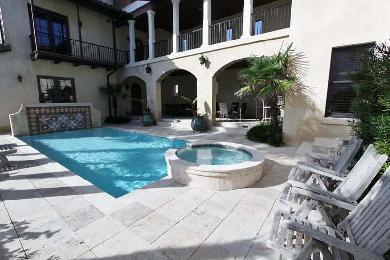 Pool can be Heated for an Additional Fee