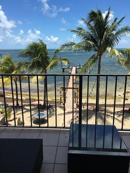 beautiful private  beachfront property