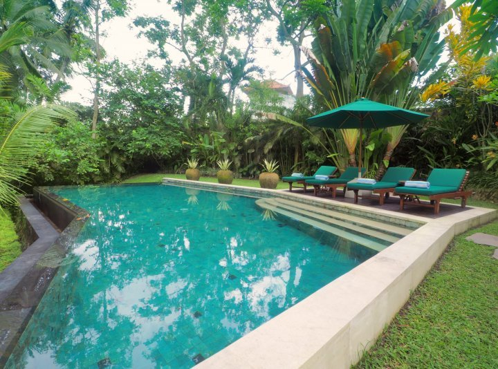 Relaxing three bedroom private villa in Ubud Bali, vacation rental in Ubud