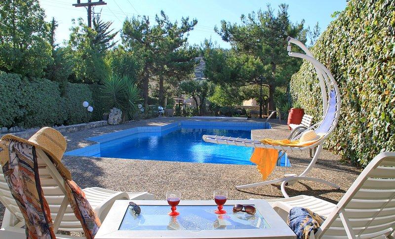 Villa Kazantzakis, vacation rental in Vasilies