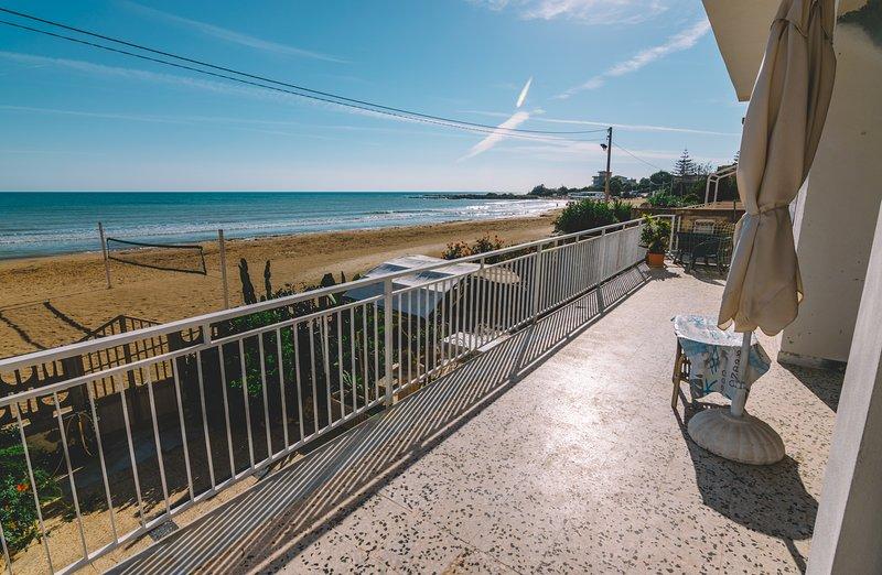 VILLA sulla spiaggia Scala dei Turchi, location de vacances à Punta Grande
