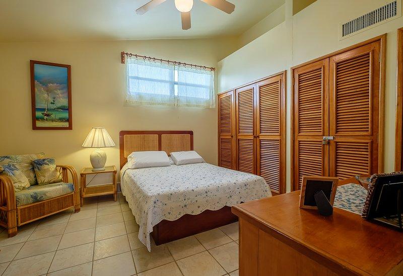 air central et ventilateurs de plafond vous gardera au frais pendant que vous dormez!