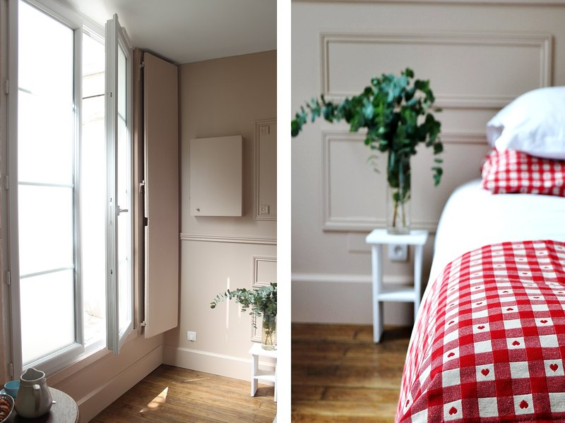 Welcome to your Artist Studio!  Chic & Parisian style space of 20m2 !