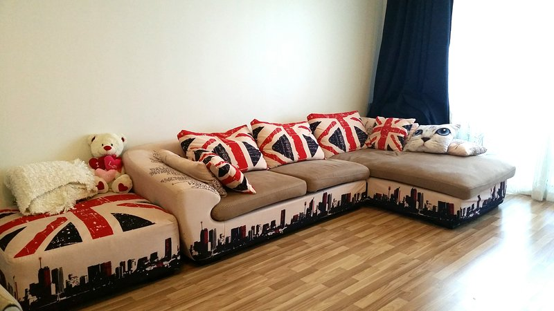 big 1 bedroom apartment for monthly rent in dubai, holiday rental in Dubai