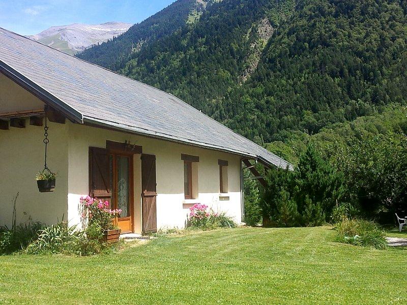 Maison individuelle en Oisans : Les Vernes (Alpes - Isère), holiday rental in Valbonnais