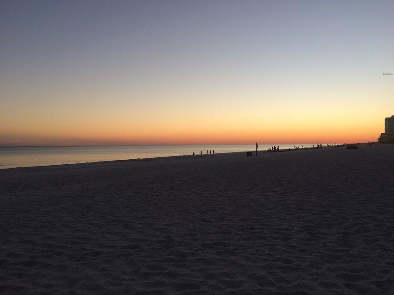 Beautiful Gulf Sunset