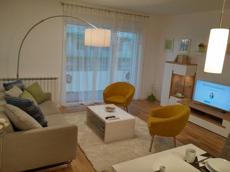 Ali apartment Zagreb,new beautiful apartment near lake Bundek, holiday rental in Velika Gorica