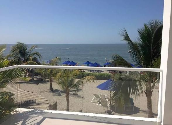 Apartment at Playa Dormida Complex in front of the beach, holiday rental in Buritaca