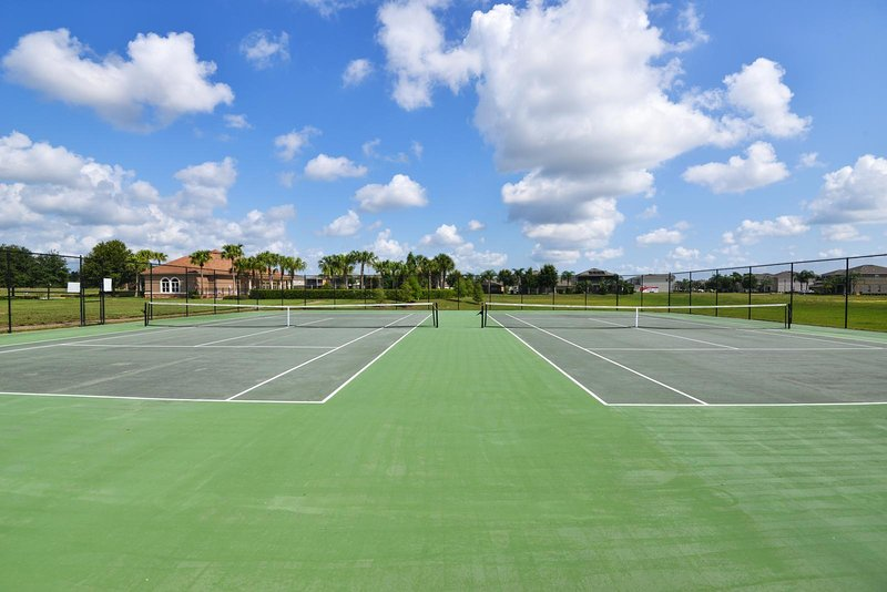 West Haven Gated vacation community tennis court