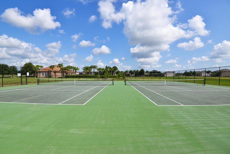 West Haven cerrada comunidad de vacaciones cancha de tenis