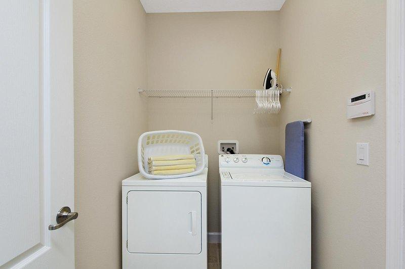 El retiro en las secadoras y lavadoras de la puerta de los campeones.