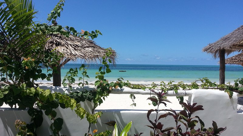 Water's edge living-Private serviced villa,5Bedr, Pool, Kite Beach (Sleeps 12), vacation rental in Zanzibar Island