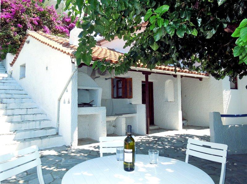 Villa Camelia, o churrasco ao ar livre no terraço do Villa Camelia ...