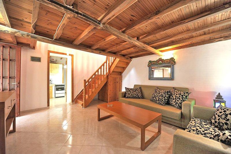 Villa CAMELIA. conversíveis sala de estar. Acesso à sala de cozinha / sala de jantar.