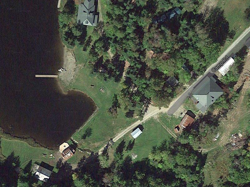 Aerial view of Camp Wapanacki.