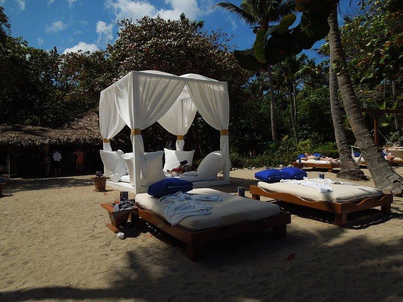 ou d'obtenir une cabine privée à la plage