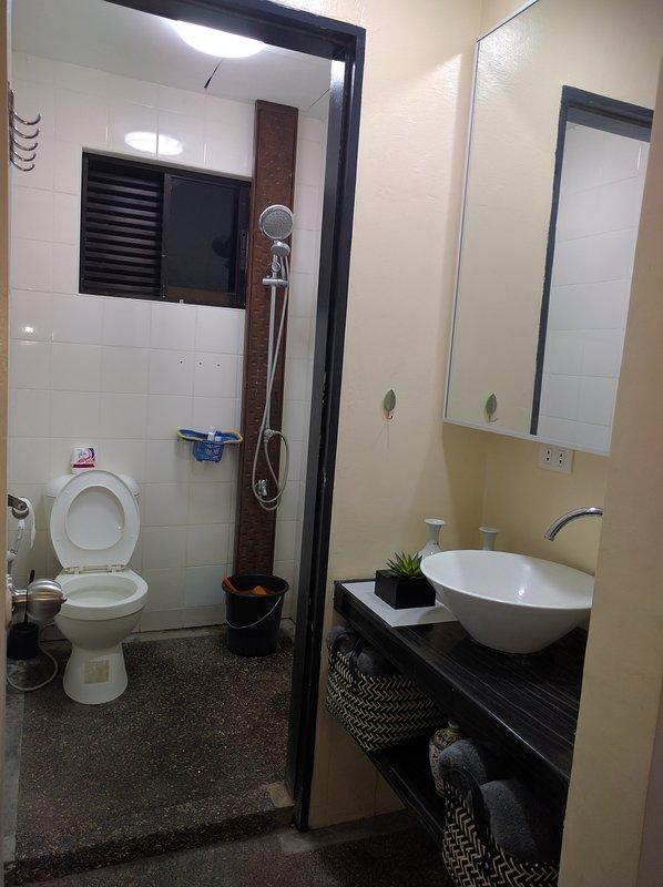Área de lavado y aseo y baño