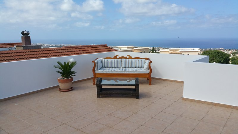 Cypriot Day Bed on the Roof Garden
