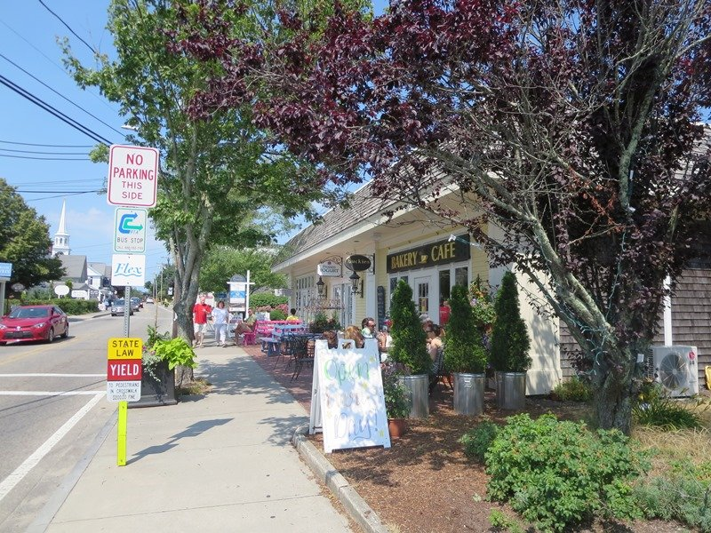 Stop and enjoy Buckies for coffee and dessert! Buckie's Bakery & Cafe (lattes, cappuccinos, herbal teas, homemade pastries and more!)  -Harwich Port Cape Cod New England Vacation Rentals