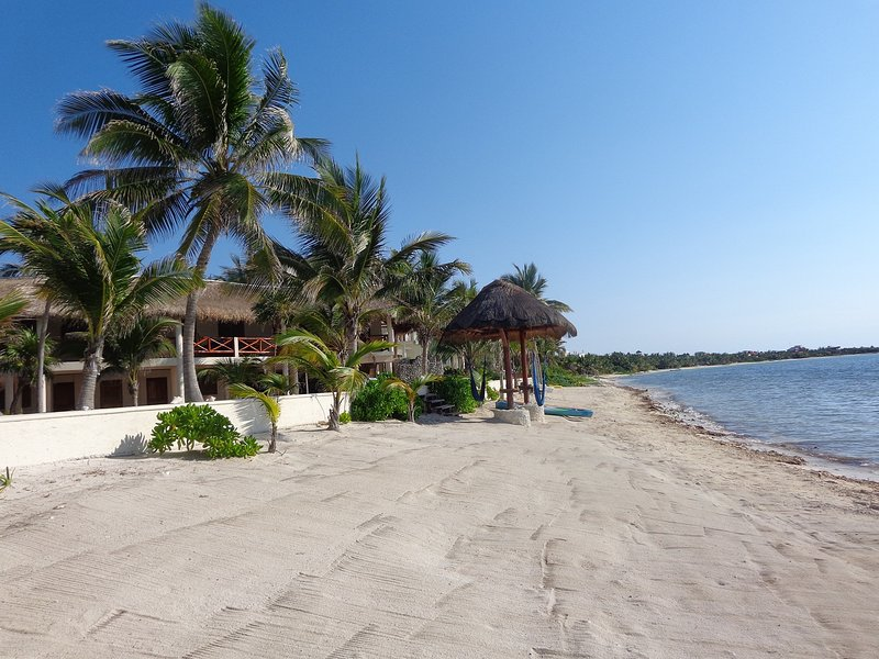 40 meters of beach front