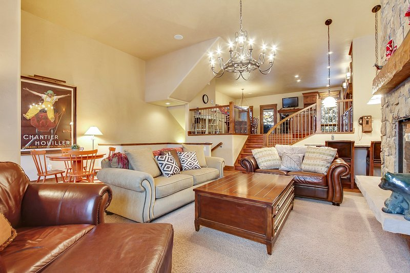 Lovely townhome near the ski trails at Winter Park Resort