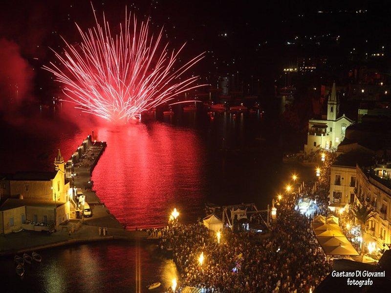 Piazza Marina Corta, das Fest des Schutz