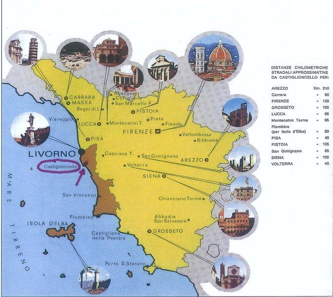Castiglioncello Surroundings