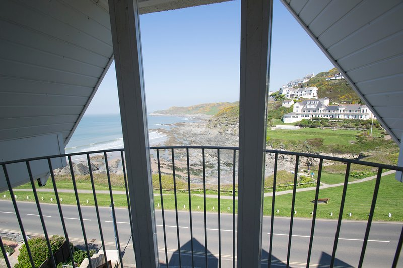 Pointview wondeful location overlooking the beach with fantastic sea views, Ferienwohnung in Woolacombe