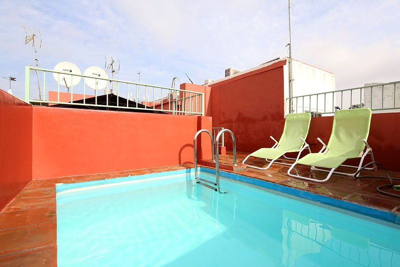 Pool is available from April to October.