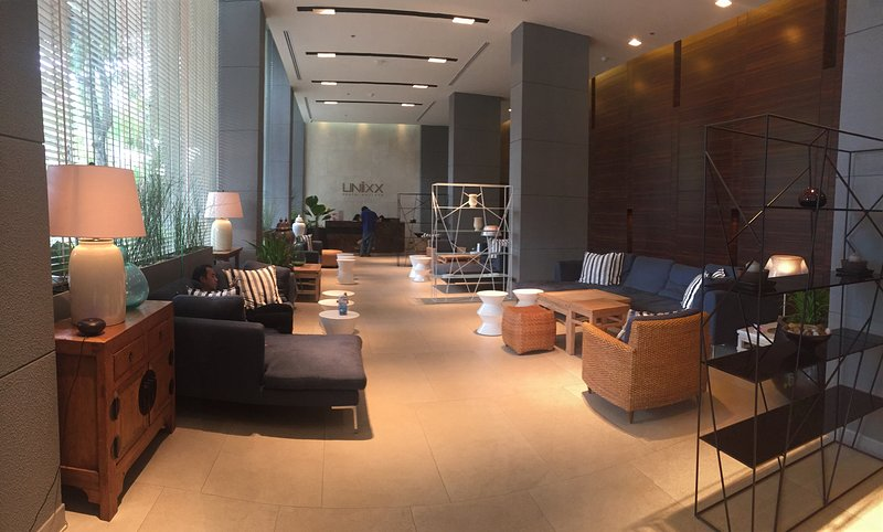 It is clean and cozy and  there are free wifi in lobby