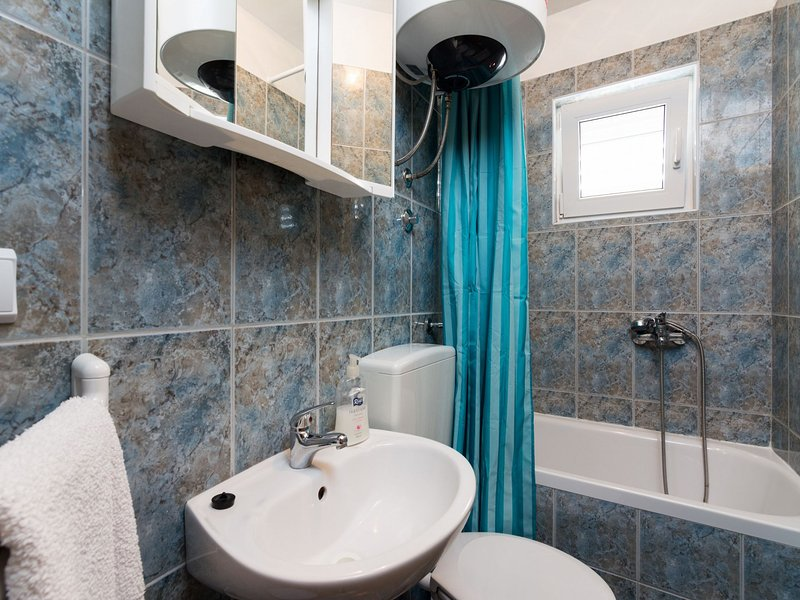 A4 (2 + 1): salle de bain avec toilette