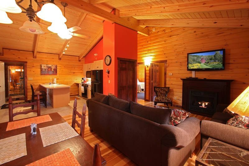Catskill Region Vacation Log Home Rental, vacation rental in Andes